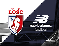 Lille OSC 17-18 Third Kit Launch Key Art