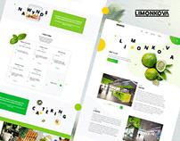 Limonkova Student Cafe - UI/UX