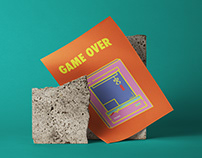 Poster Design - Game Over