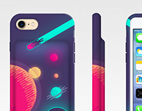 iPhone Battery Case PSD