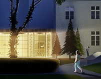 CGI | Museum Development - Cafe Pavilion