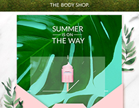 The Body Shop Newsletter