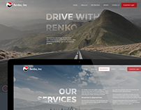 Renko website design