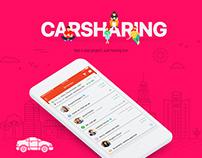 Car Sharing - App