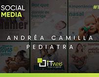 Social Media | Dra. Andréa Camilla - Pediatra #1