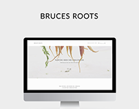 Bruces Roots - Squarespace Website