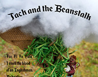 Jack and the Beanstalk 3D Illustration