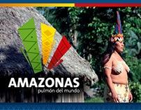 Amazonas - Marca región - ilustración