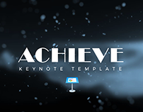 Achieve Keynote Template