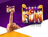 House of Fun App Icon Design