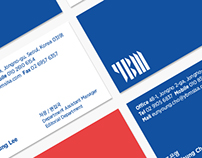New Logo and Identity for YBM / Branding, Graphic