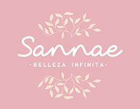 """Naming y logotipo centro de estética """" Sannae"""""""