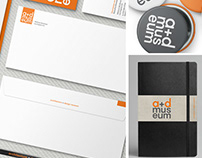 a+d museum identity redesign