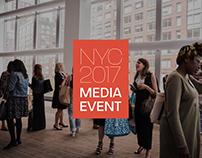 NYC Media Event