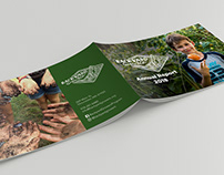 Backyard Growers Annual Report Design