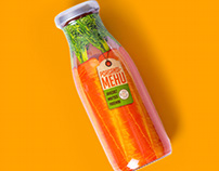 Package Design for Carrot Juice