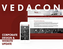 Vedacon – Corporate Design Update