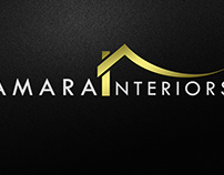 Logo Design for Amara Interiors Company