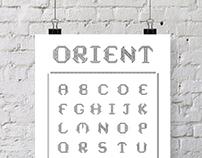 ORIENT - Typeface