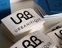 Комплексный брендинг для компании URB - URBANIFIQIE