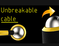 Unbreakable cable hood