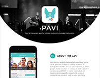 Pavi An Event Managing App