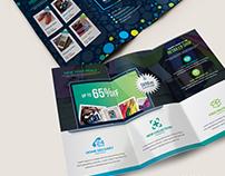HappyShop : E-Commerce Tri-Fold Brochure