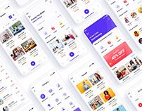 Tutor Finder Mobile App UI Template