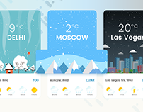 Weather Design Interaction