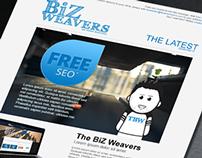 The BiZ Weavers | Newsletter Layout