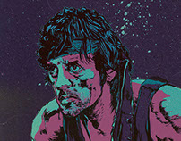 RAMBO, FIRST BLOOD POSTER