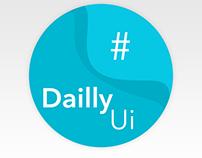 DailyUI Challenge