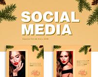 Social Media Fim de Ano   Mais Olhar