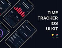 Timetracker iOS UI Kit