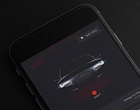 """""""Build your Audi"""" app"""