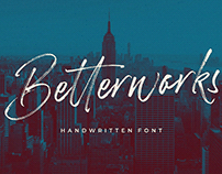 Free Betterwork Handwritten Script Demo