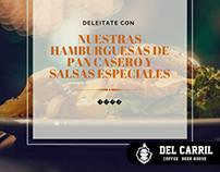 """Community Manager for """"Del Carril"""" coffee &beer house"""