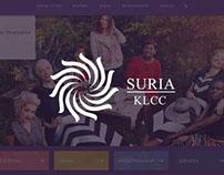 Suria KLCC - Website Redesign