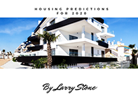 Housing Predictions for 2020