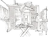 2015 臺北市都市空間整建維護- 老屋新生大獎成果彙編 內頁插畫