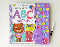 First Steps Write & Wipe - Hinkler Books