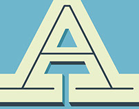 "Lettering ""A"""