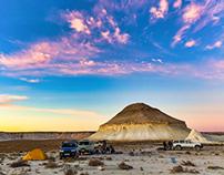 Mountain-Yurt in sunset splendor, Bazzhira