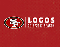San Francisco 49ers Logos 2016