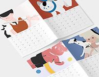 ICAF calendar