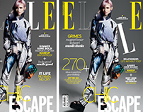 ELLE Indonesia Magazine for June Issue