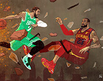 Kyrie Vs. Lebron in 2017-2018?