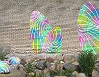 "mural ""Toxic shells."""