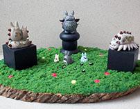 Ghibli Steampunk Sculpture Garden II