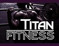 Titan Fitness   Brand Identity